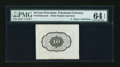 Fractional Currency:First Issue, Fr. 1243SP 10c First Issue Wide Margin Back PMG Choice Uncirculated 64 EPQ....