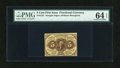 Fractional Currency:First Issue, Fr. 1231 5c First Issue PMG Choice Uncirculated 64 EPQ....