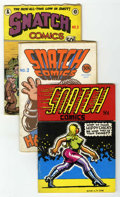 Silver Age (1956-1969):Alternative/Underground, Snatch Comics #1-3 Second Printing Group (Apex Novelties, 1968)Condition: VG.... (Total: 3 Comic Books)