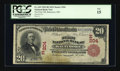 National Bank Notes:Maryland, Baltimore, MD - $20 1902 Red Seal Fr. 639 The First NB Ch. #(E)204. ...