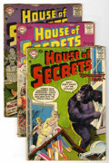 Silver Age (1956-1969):Mystery, House of Secrets Group (DC, 1957-59) Condition: Average GD-....(Total: 12 Items)