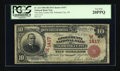 National Bank Notes:Nebraska, Nebraska City, NE - $10 1902 Red Seal Fr. 613 The Otoe County NB Ch. # (W)1417. ...