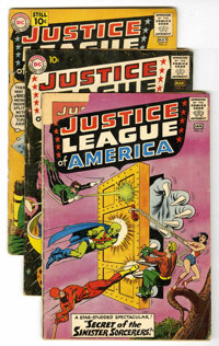 Justice League of America #2 - 5 Group (DC, 1961).... (Total: 4 Comic Books)
