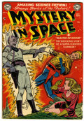 Golden Age (1938-1955):Science Fiction, Mystery in Space #4 (DC, 1951) Condition: VG....