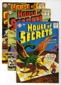 Silver Age (1956-1969):Mystery, House of Secrets #9, 13, and 14 Group (DC, 1958) Condition: AverageFN-.... (Total: 3 Items)