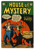 Golden Age (1938-1955):Horror, House of Mystery #3 (DC, 1952) Condition: VG....