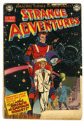 Golden Age (1938-1955):Science Fiction, Strange Adventures #9 (DC, 1951) Condition: FR....