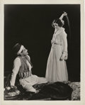 "Movie Posters:Adventure, Myrna Loy and Ramon Novarro in ""The Barbarian"" (MGM, 1933). Still(8"" X 10"").. ..."