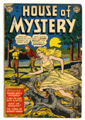Golden Age (1938-1955):Horror, House of Mystery #1 (DC, 1952) Condition: FR....