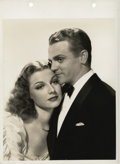 """Movie Posters:Crime, Ann Sheridan and James Cagney in """"Angels with Dirty Faces"""" (WarnerBrothers, 1938). Keybook Still (8"""" X 10"""").. ..."""