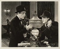 "Humphrey Bogart and James Cagney in ""Angels with Dirty Faces"" (Warner Brothers, 1938). Still (8"" X 10&quo..."