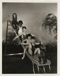 "Movie Posters:Short Subject, Our Gang Publicity Photo by Stax (MGM, mid to late 1930s). Still(8"" X 10"").. ..."