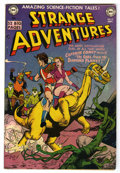 Golden Age (1938-1955):Science Fiction, Strange Adventures #12 (DC, 1951) Condition: FN-....