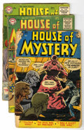 Golden Age (1938-1955):Horror, House of Mystery Group (DC, 1952-56) Condition: Average FR....(Total: 4 Items)