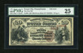 National Bank Notes:Pennsylvania, Forest City, PA - $20 1882 Brown Back Fr. 504 The First NB Ch. # 5518. ...