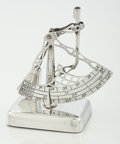 Silver Holloware, American:Desk Accessories, AN AMERICAN SILVER POSTAL SCALE. Gorham Manufacturing Co.,Providence, Rhode Island, circa 1920. Marks: (lion-anchor-G),S...