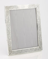 AN AMERICAN SILVER FRAME Webster Company, North Attleboro, Massachusetts, circa 1900 Marks: (WC with arrow)