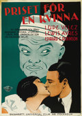 """Movie Posters:Crime, East is West (Universal, 1930). Swedish One Sheet (27.5"""" X 39.5"""")....."""