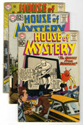Silver Age (1956-1969):Horror, House of Mystery Group (DC, 1961-64) Condition: Average VG-....(Total: 7 Comic Books)
