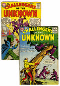 Silver Age (1956-1969):Superhero, Challengers of the Unknown #4 and 5 Group (DC, 1958-59) Condition:Average VG.... (Total: 2 Items)