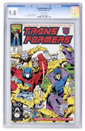 Modern Age (1980-Present):Science Fiction, Transformers #74 (Marvel, 1991) CGC NM/MT 9.8 White pages....