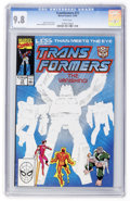 Modern Age (1980-Present):Science Fiction, Transformers #73 (Marvel, 1990) CGC NM/MT 9.8 White pages....