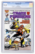 Modern Age (1980-Present):Science Fiction, Transformers #19 (Marvel, 1986) CGC NM/MT 9.8 White pages....