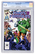 Modern Age (1980-Present):Science Fiction, Transformers #14 (Marvel, 1986) CGC NM/MT 9.8 Off-white to whitepages....
