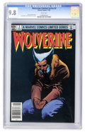 Modern Age (1980-Present):Superhero, Wolverine (Limited Series) #3 (Marvel, 1982) CGC NM/MT 9.8 Whitepages....
