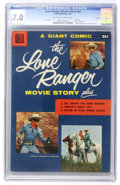 Silver Age (1956-1969):Western, Dell Giant Comics Lone Ranger Movie Story #nn - Circle 8 pedigree (Dell, 1956) CGC FN/VF 7.0 Off-white to white pages....