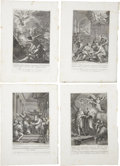 Antiques:Posters & Prints, Collection of Seven Copper Engravings by Alessandro MochettiDepicting Scenes From the Life of Mary.... (Total: 7 Items)