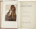 Books:First Editions, Rudyard Kipling. The Jungle Book. London: Macmillan, 1908.First edition. Color plates by Maurice and Edward Det...