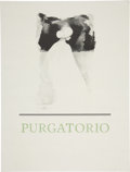 """Miscellaneous:Ephemera, Barry Moser Signed """"Purgatorio"""" Poster. Lithograph. 17.5 x 23inches. Signed in pencil. A beautiful image in fine condit..."""