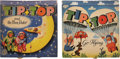 Books:Children's Books, Two Tip + Top Pop-Up Books, including: Tip + Top Go Flying.London, 1964. [and:] Tip + Top and the Moon Rocket.... (Total: 2Items)