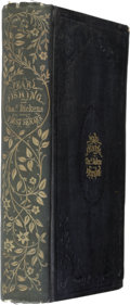 Books:First Editions, Charles Dickens [editor]. Pearl-Fishing. Choice Stories,from Dickens' Household Words. 1854....