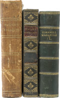 Books:Fiction, [Charles Dickens]. Three Bound Magazine Collections FeaturingCharles Dickens Stories.... (Total: 3 Items)