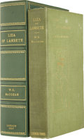 Books:Signed Editions, W. Somerset Maugham. Liza of Lambeth. London: T. FisherUnwin, 1897.. First edition, first issue. Signed by Maug...