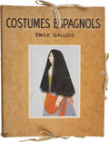 Books:First Editions, Émile Gallois. Costumes Espagnols. New York: French &European Publications, 1939. First edition, limited to 1,0...