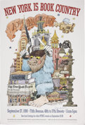 """Autographs:Authors, Maurice Sendak. Two Signed Posters. Seasonal Poster for the HoustonGrand Opera, 1997. Signed """"Maurice Sendak"""" in in... (Total: 2Items)"""