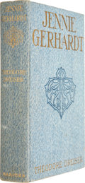 Books:First Editions, Theodore Dreiser. Jennie Gerhardt. New York: Harper &Brothers, 1911....