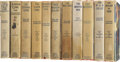 Books:Fiction, Edgar Rice Burroughs. Eleven Grosset & Dunlap Titles,including:... (Total: 11 Items)