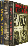 Books:Fiction, Robert A. Heinlein. Three Books, including:... (Total: 3 Items)