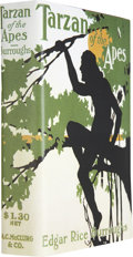 Books:First Editions, Edgar Rice Burroughs. Tarzan of the Apes. Chicago: A. C.McClurg & Co., 1914....