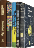 Books:First Editions, Isaac Asimov. Five First Editions, One Signed, including:...(Total: 5 Items)