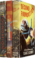 Books:Fiction, Isaac Asimov's. The Foundation Trilogy, including:...(Total: 3 Items)