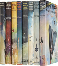 Donald A. Wollheim. The Mike Mars Series Complete in Eight Volumes
