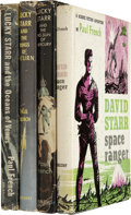 Books:Fiction, [Isaac Asimov]. Four Novels by Asimov Writing as Paul French,including:... (Total: 4 Items)