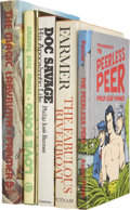 Books:Signed Editions, Philip Jose Farmer (1918-2009). Five First Editions, Two Signed,including:... (Total: 5 Items)