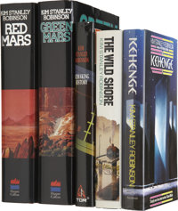 Kim Stanley Robinson. Five First Editions, Three Signed, including: