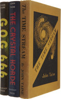 Books:First Editions, John Taine. Three First Editions, including:... (Total: 3 Items)